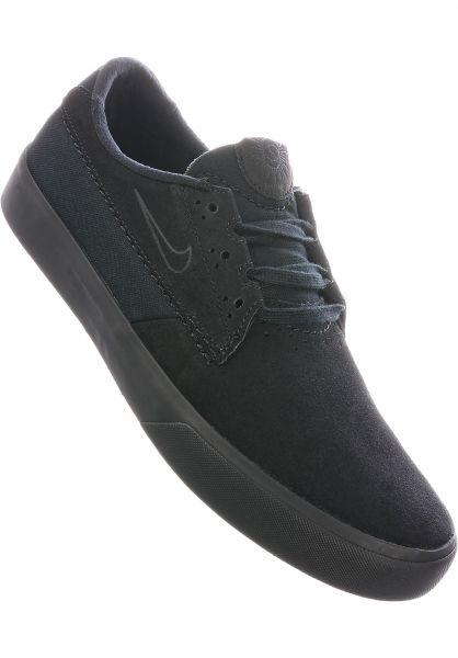 Nike SB Alle Schuhe Shane black-black-black vorderansicht 0604764