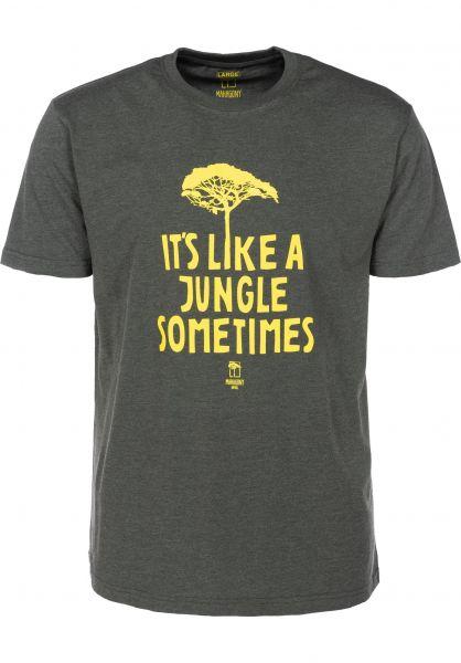 Mahagony T-Shirts Jungle darkgreen vorderansicht 0399467