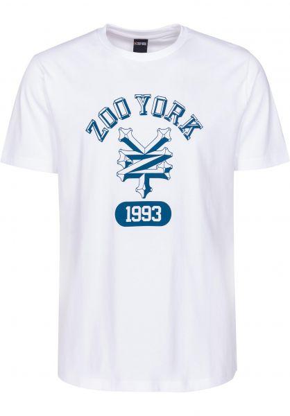Zoo York T-Shirts Bevelled Arch white Vorderansicht