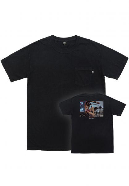 Loser-Machine T-Shirts Cheyenne black vorderansicht 0321242