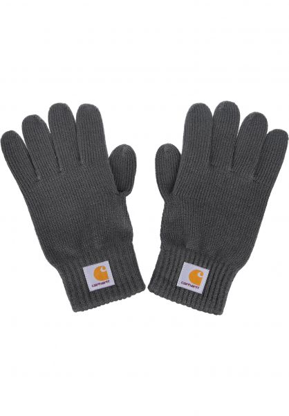 Carhartt WIP Handschuhe Watch Gloves blacksmith vorderansicht 0141787