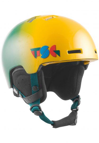 TSG Snowboardhelme Arctic Nipper Mini Graphic Design constructed fade vorderansicht 0223011
