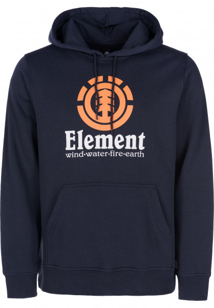 Element Hoodies Vertical eclipsenavy Vorderansicht