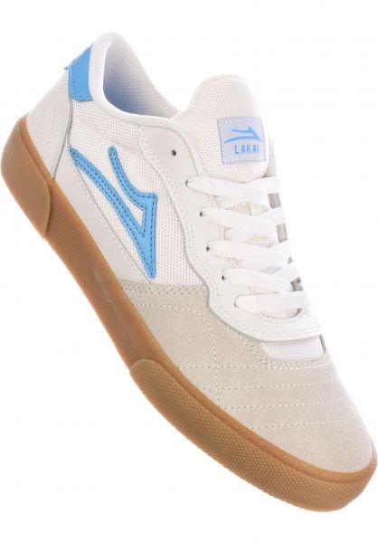 Lakai Alle Schuhe Cambridge white-lightblue vorderansicht 0604604