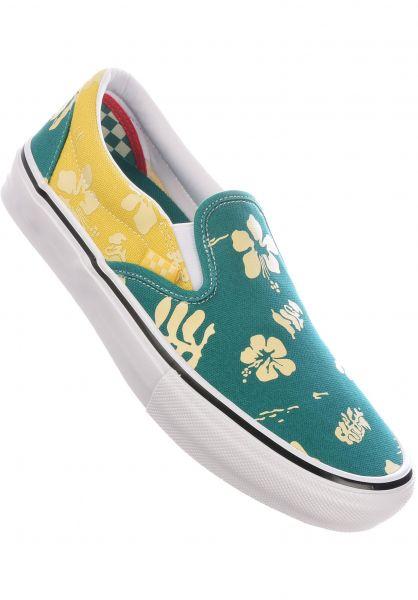 Vans Alle Schuhe Skate Slip-On marine-gold vorderansicht 0604968