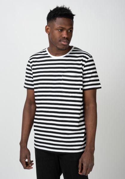 Makia T-Shirts Verkstad black-white vorderansicht 0396215