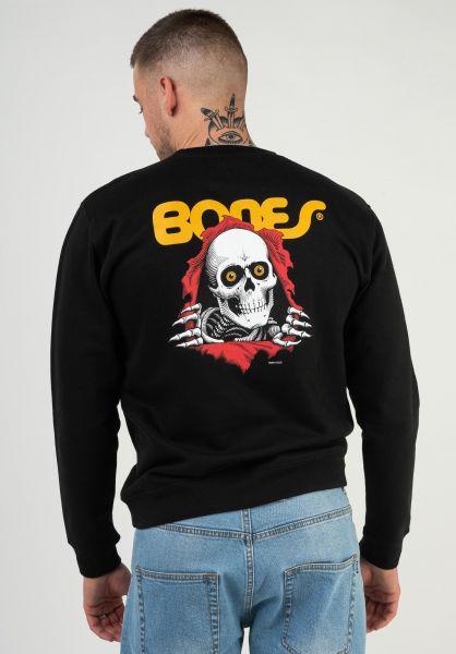 Powell-Peralta Sweatshirts und Pullover Ripper black vorderansicht 0422757
