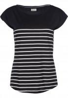 Forvert-T-Shirts-Newport-black-beige-Vorderansicht