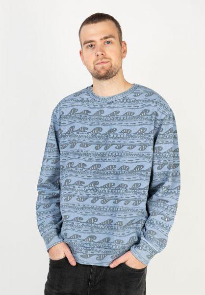 Billabong Sweatshirts und Pullover Halfrack Crew navy vorderansicht 0423045