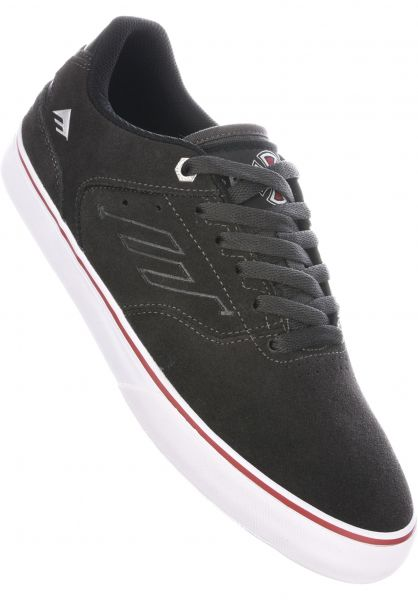 Emerica Alle Schuhe The Reynolds Low Vulc x Independent darkgrey Vorderansicht