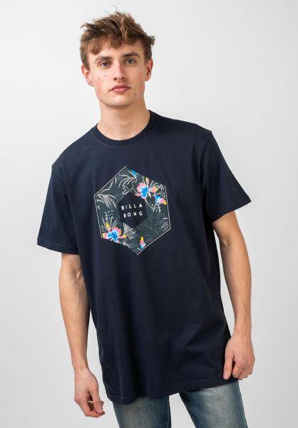 Billabong T-Shirts X-Cess navy vorderansicht 0321600