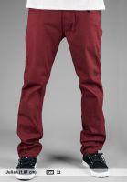 TITUS Jeans Tube Fit burgundy Vorderansicht
