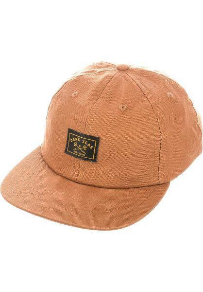 Dark Seas Caps Saguaro goldenbrown vorderansicht 0566670