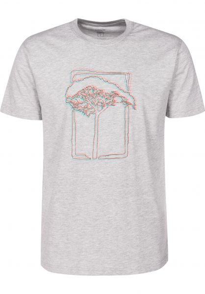 Mahagony T-Shirts 3D grey vorderansicht 0399466