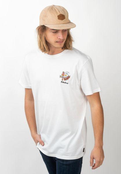 Billabong T-Shirts Island white vorderansicht 0320675