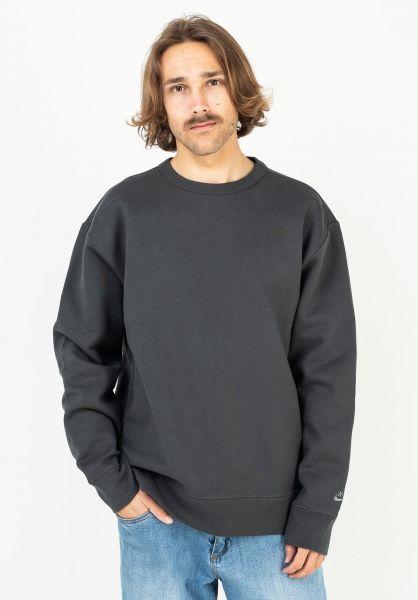 Nike SB Sweatshirts und Pullover Orange Label darksmokegrey-smokegrey vorderansicht 0423064