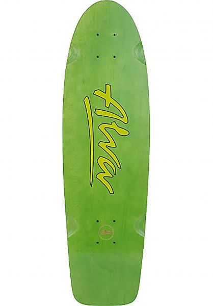 Alva Skateboard Decks 1978 Lost Model Re-Issue green Vorderansicht
