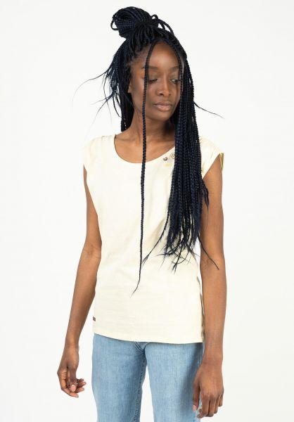 Ragwear T-Shirts Greta vanilla 121 vorderansicht 0399351