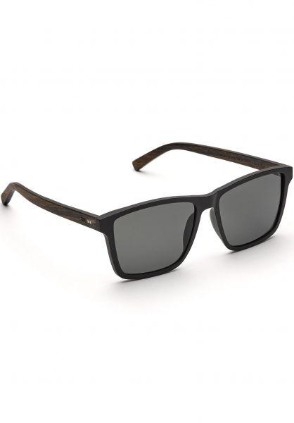 TAS Take a Shot Sonnenbrillen Tomte Walnuss black vorderansicht 0590580