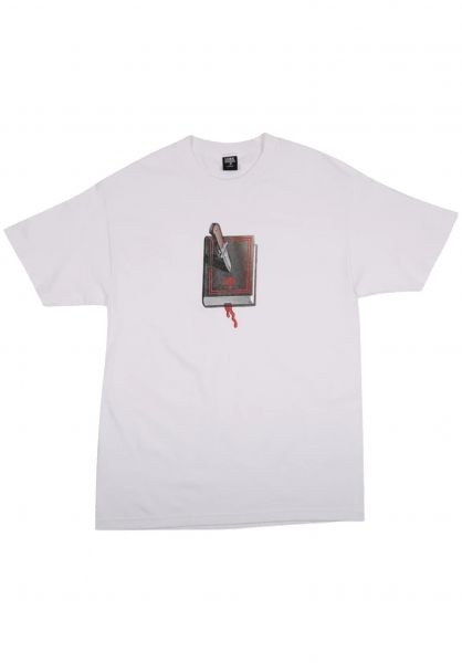 Lurk Hard T-Shirts Book white vorderansicht 0322347
