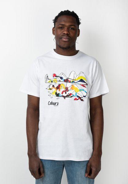 Colours Collectiv T-Shirts Barras King Of Summer white vorderansicht 0321597