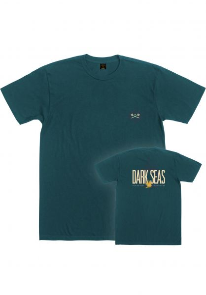 Dark Seas T-Shirts Adventure blue-spruce vorderansicht 0321883