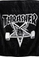Thrasher-Verschiedenes-Skategoat-Blanket-black-Vorderansicht