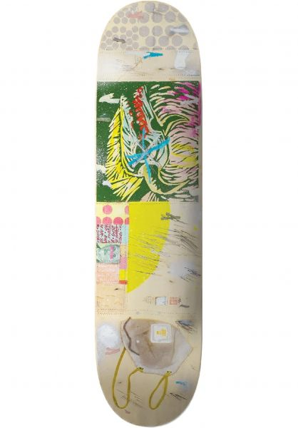 UMA Landsleds Skateboard Decks Bovo Covo Widdler Shape cream vorderansicht 0267196