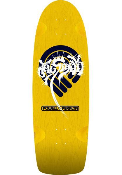 Powell-Peralta Skateboard Decks Jay Smith Original yellow vorderansicht 0115980