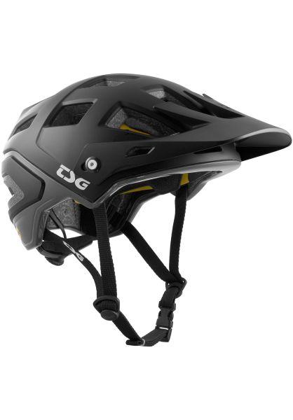TSG Helme Scope Mips Solid Color satin black vorderansicht 0750143