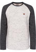 TITUS Sweatshirts und Pullover Thorben offwhitemottled-darkgreymottled Vorderansicht