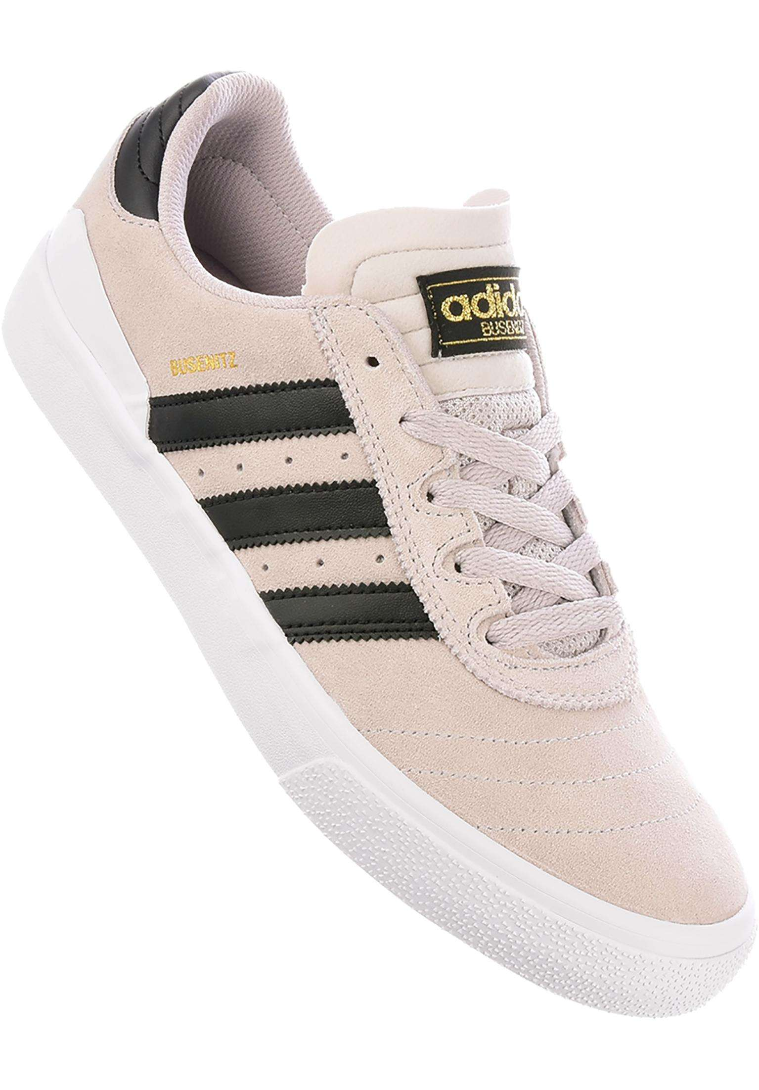 low priced b06fb e62ae Busenitz Vulc ADV adidas-skateboarding All Shoes in  crystalwhite-coreblack-white for Men   Titus