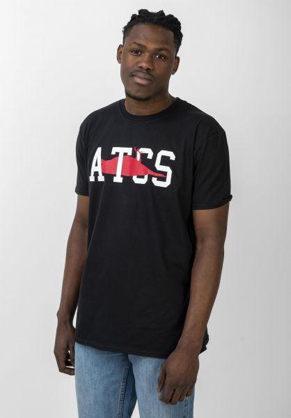Atticus T-Shirts AT Bird black vorderansicht 0321485