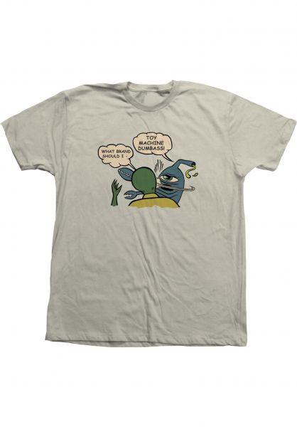 Toy-Machine T-Shirts Slap putty vorderansicht 0323476