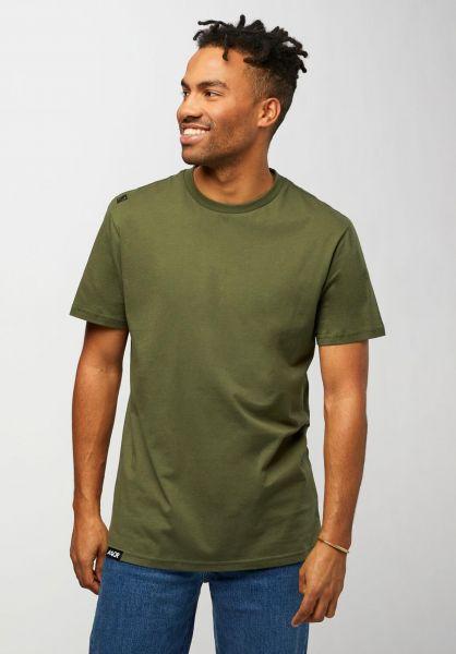 AEVOR T-Shirts Base Tee cypressgreen vorderansicht 0322328