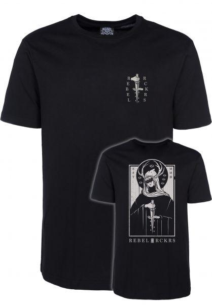 Rebel Rockers T-Shirts Blindgirl black vorderansicht 0320744