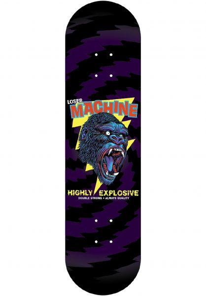 Loser-Machine Skateboard Decks Great Gorilla black vorderansicht 0264259