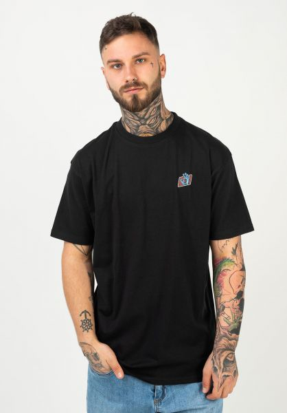 Santa-Cruz T-Shirts Work Hand black vorderansicht 0322411