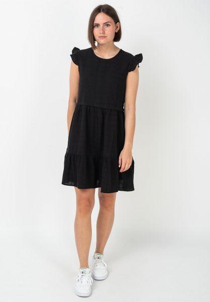 Rhythm Kleider Amelia black vorderansicht 0801521