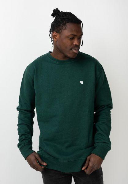 TITUS Sweatshirts und Pullover Uni darkgreenmottled vorderansicht 0420880