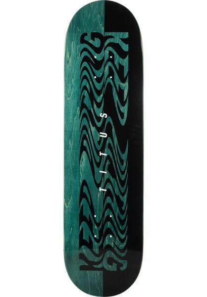 TITUS Skateboard Decks Keep Pushing green vorderansicht 0263525
