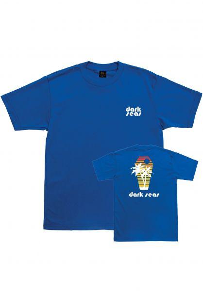 Dark Seas T-Shirts Six Feet Over blue vorderansicht 0383277