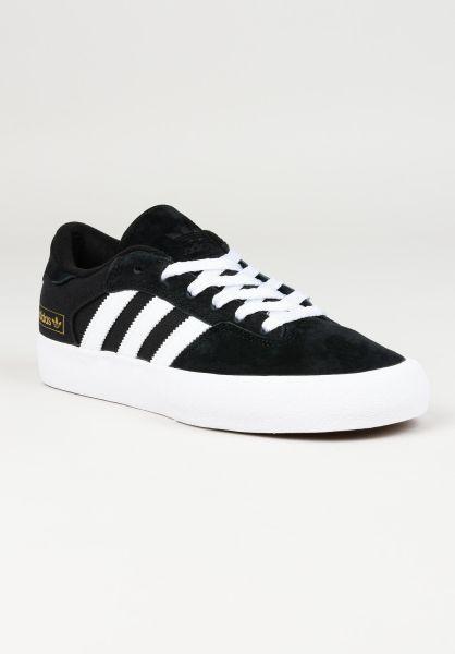 adidas-skateboarding Alle Schuhe Matchbreak Super coreblack-white-gold vorderansicht 0604762