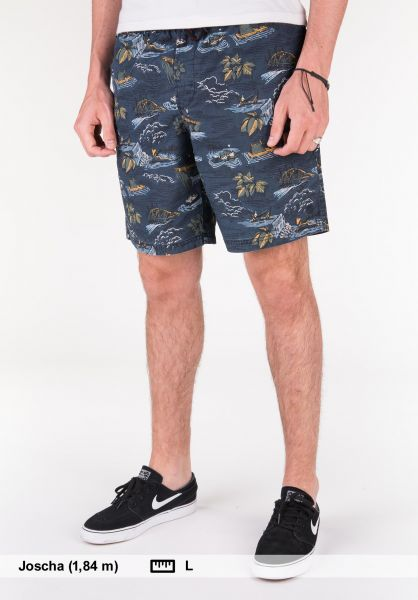 Element Shorts Arrowrock WK riverratsblue Vorderansicht