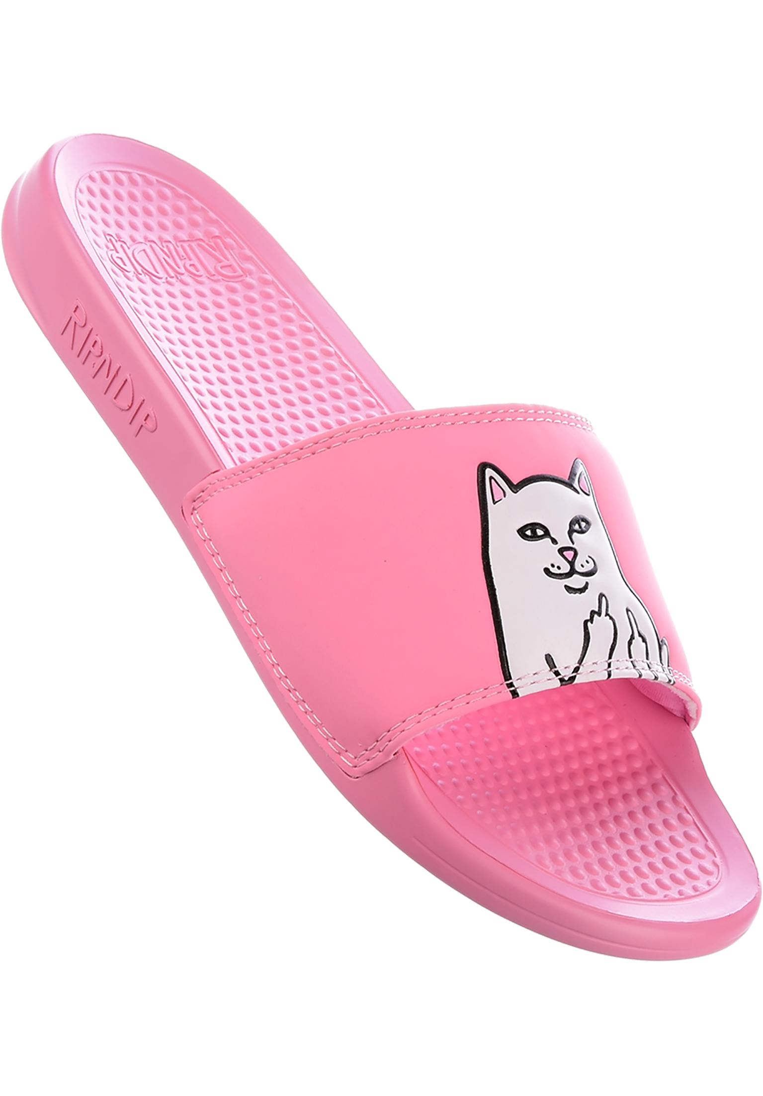 a0c77b05995c Lord Nermal Slides Rip N Dip Sandals in pink for Men