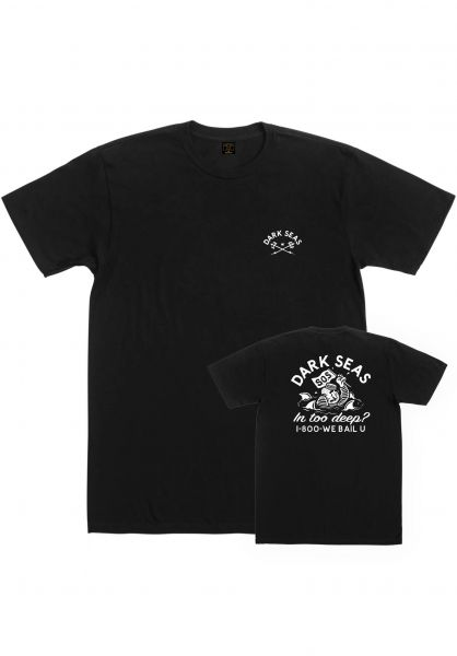 Dark Seas T-Shirts We Bail U black vorderansicht 0322891