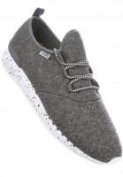 Djinns Alle Schuhe Moc Lau Spots grey Vorderansicht