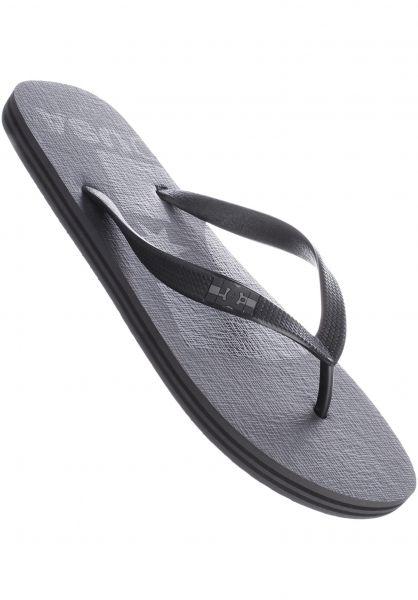 DC Shoes Sandalen Spray Logo grey-black-black Vorderansicht