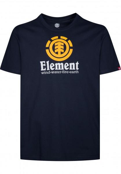Element T-Shirts Vertical eclipsenavy Vorderansicht