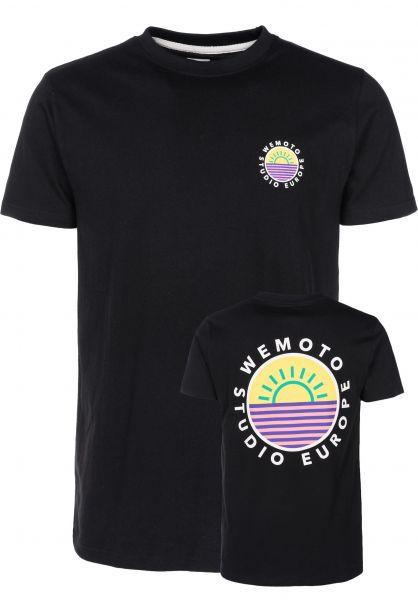 Wemoto T-Shirts Good Life black vorderansicht 0399605